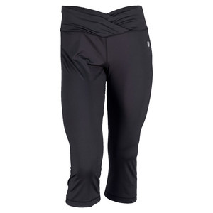ELEVEN WOMENS MISS HIT TENNIS CAPRI BLACK