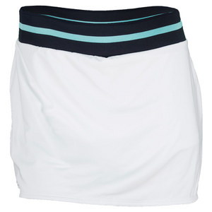 LACOSTE WOMENS TECHNICAL TENNIS SKORT WHITE