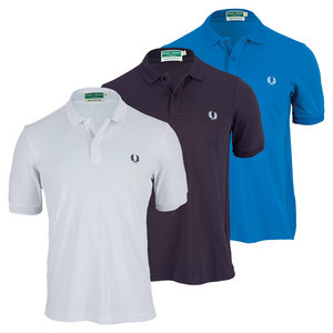 FRED PERRY MENS WICKABLE PLAIN TENNIS POLO
