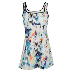 ELEVEN WOMENS TENNIS DRESS AURORA PRINT