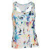 Women`s Down the Line Tennis Tank Aurora by ELEVEN