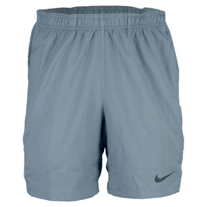 NIKE MENS POWER 7 IN WVN TNS SHORT MAG GY