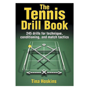 HUMAN KINETICS THE TENNIS DRILL BOOK