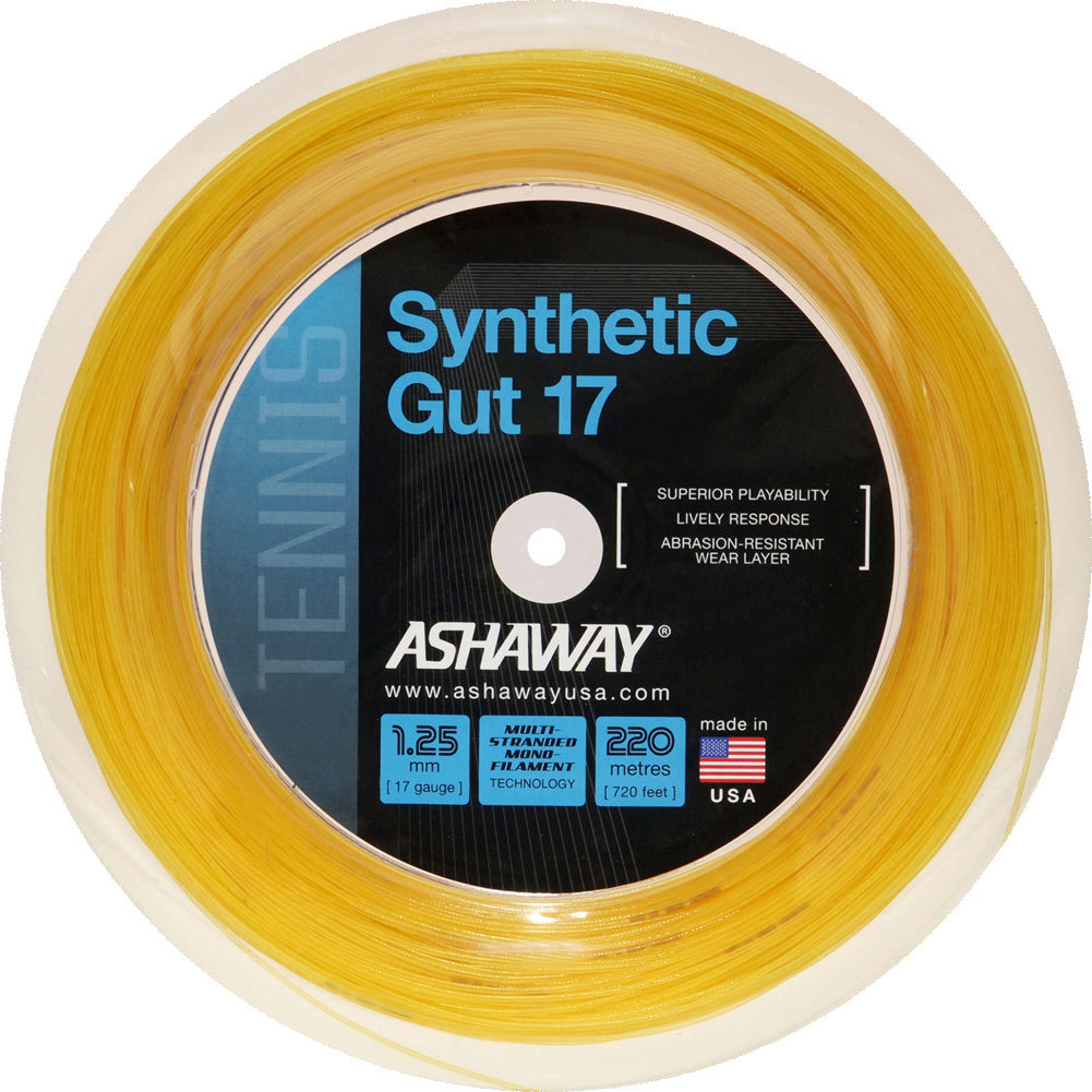 Synthetic Gut 17g 720 Foot Tennis String Reel