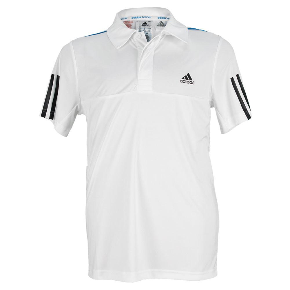 Boys ` Response Traditional Tennis Polo White