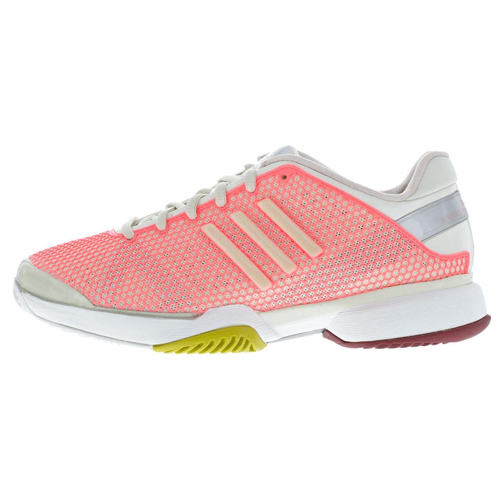 adidas womens stella barricade shoes pk powder