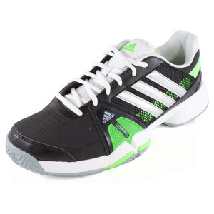 adidas MENS BARRICADE TEAM 3 TENNIS SHOES BK/SI