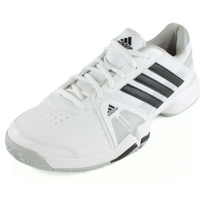 adidas MENS BARRICADE TEAM 3 TENNIS SHOES WH/BK