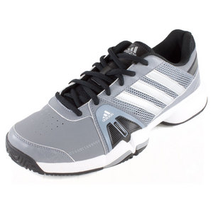 adidas MENS BARRICADE TEAM 3 TENNIS SHOES GY/SI