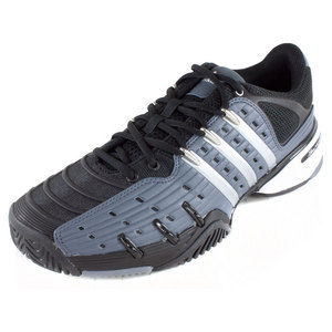 adidas MENS BARRICADE V CLASSIC SHOES ONIX/SILV