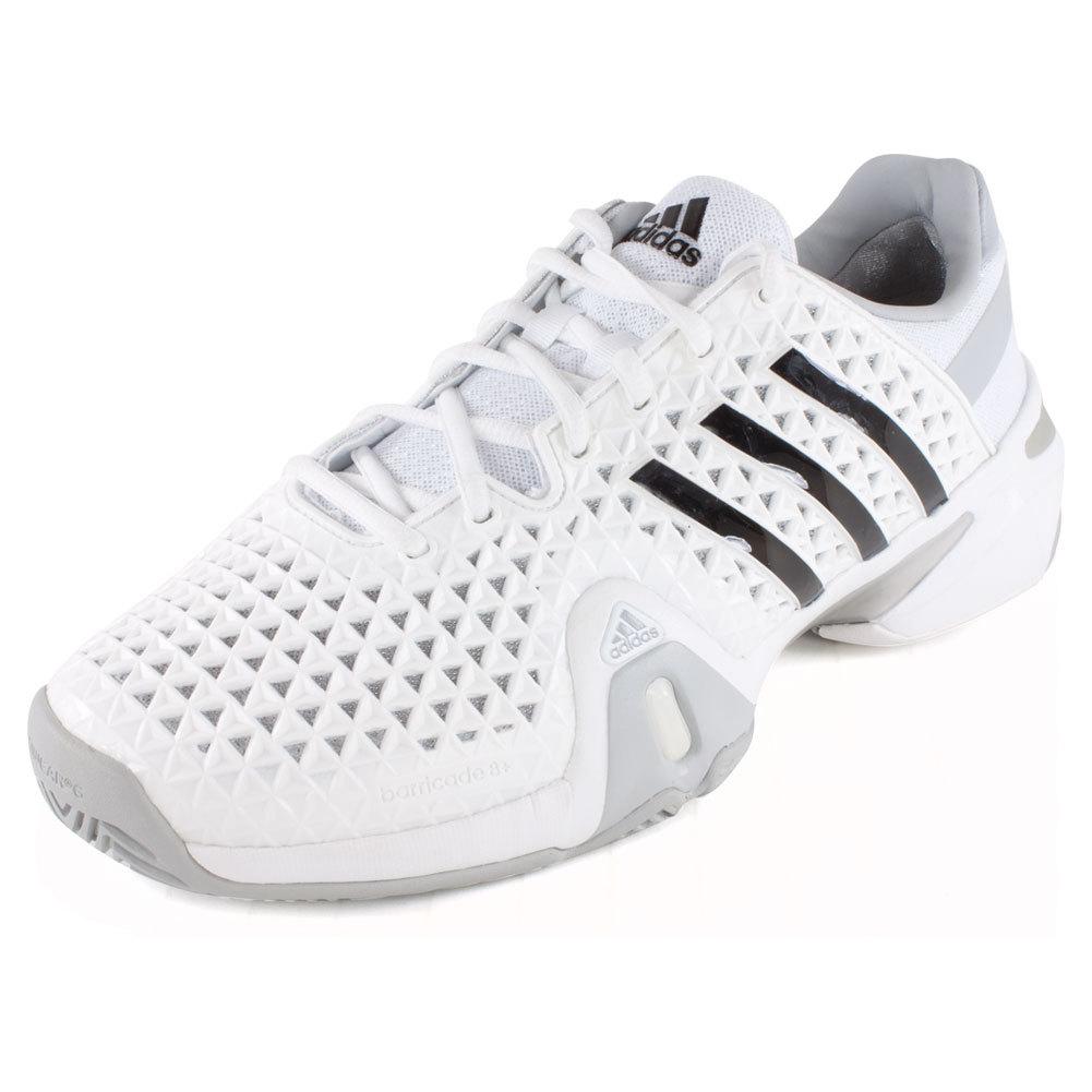 adidas barricade tennis shoes for men