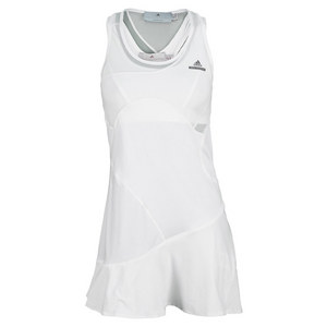adidas WOMENS STELLA BARRCD TNS DRESS WHITE