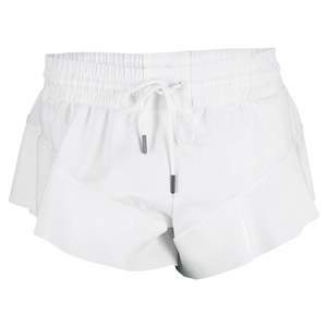 adidas WOMENS STELLA BARRCD 2.5IN SHORT WHITE