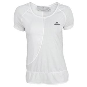 adidas WOMENS STELLA BARRICADE TEE WHITE