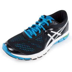 Men`s Gel Excel33 3 Running Shoes Black and Lightning