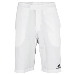 adidas MENS A MURRAY BARR BERMUDA SHORT WHITE