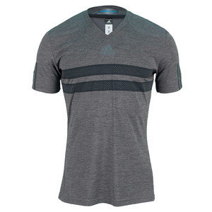 adidas MENS ANDY M BARRICD CLIMACH TEE DK GY