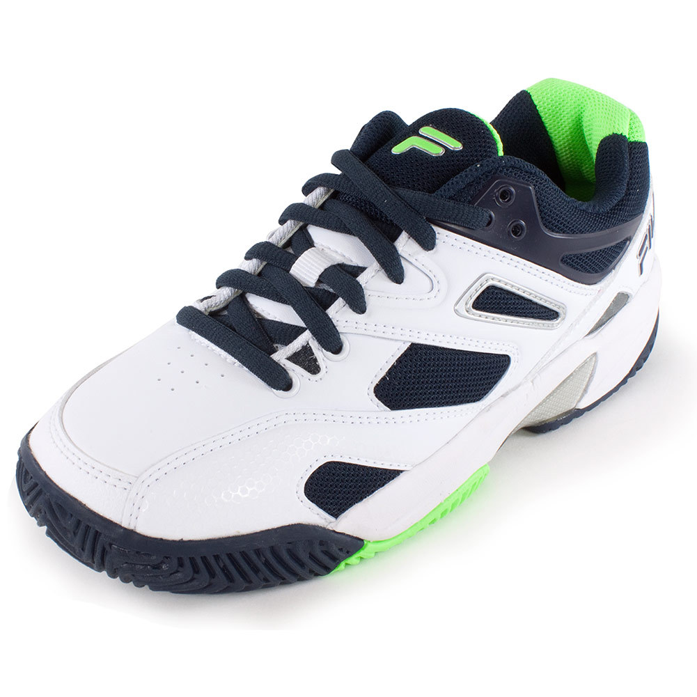 Juniors'sentinel Tennis Shoes White And Blue Nights