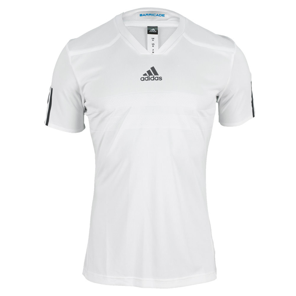 Men`s Andy Murray Barricade ClimaChill Wimbledon Tennis Tee White