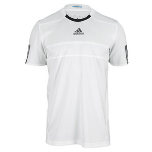 adidas MENS BARRICADE TNS TEE WHITE