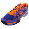 Men`s Ultra-Express Tennis Shoes Black Fade and Electric Blue by K-SWISS