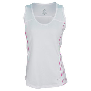 JOFIT WOMENS LANAI RALLY TENNIS TANK WHITE