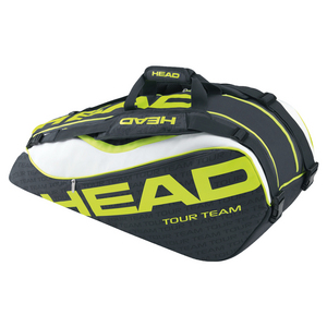 HEAD EXTREME COMBI TENNIS BAG ANTHRA/NEON YL