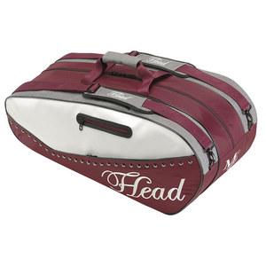 HEAD MARIA SHARAPOVA COMBI TENNIS BAG MAR/WH