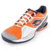 LOTTO Men`s Raptor Ultra IV Speed Tennis Shoes White and Samba