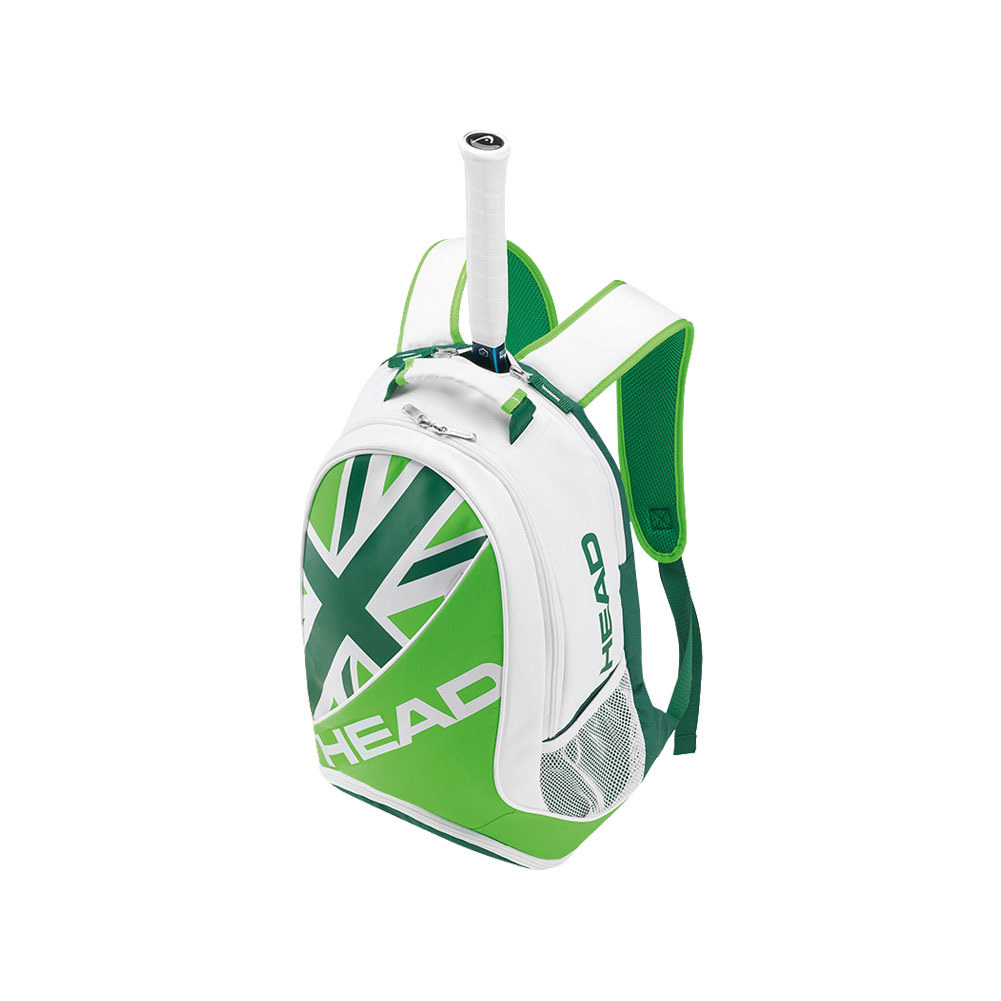 Murray Special Edition Tennis Backpack White And Green
