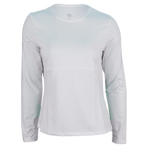 TAIL WOMENS PLAYER LONG SLEEVE TENNIS TOP WH