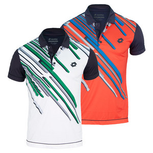 LOTTO MENS SLADE GRAPHIC TENNIS POLO