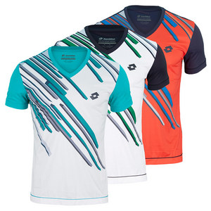 LOTTO MENS SLADE GRAPHIC TENNIS TEE