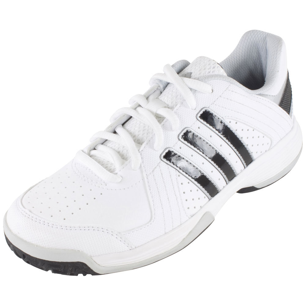 Juniors ` Response Approach Tennis Shoes Core White And Black