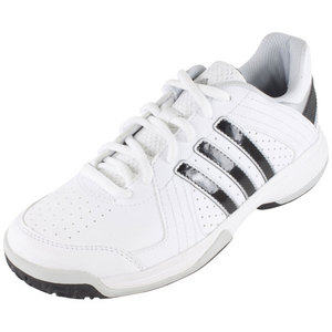 Juniors` Response Approach Tennis Shoes Core White and Black
