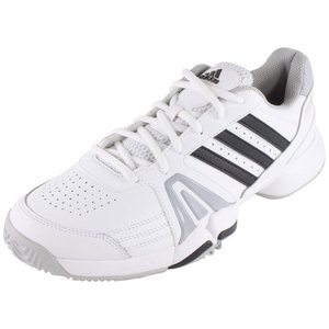 adidas MENS BERCUDA 3 TENNIS SHOES WHITE/ONX