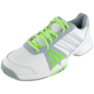 adidas MENS BERCUDA 3 TENNIS SHOES WHITE/GN