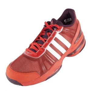 adidas MENS CC RALLY COMP TENNIS SHOES OR/WH