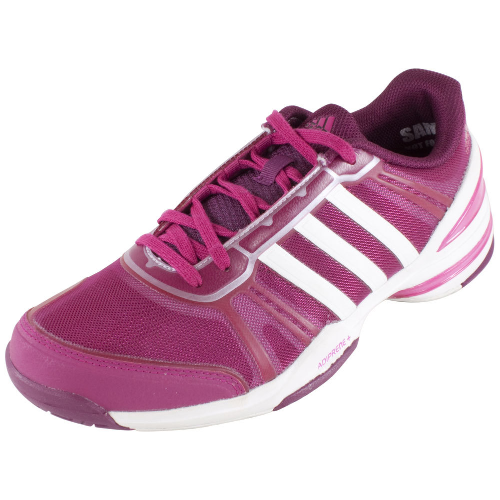 s cc rally comp tennis shoes bold pink and white