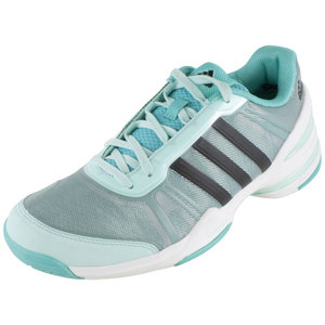 adidas WOMENS CC RALLY COMP SHOES MINT/BK