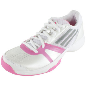Women`s Galaxy Allegra III Tennis Shoes Core White and Solar Pink