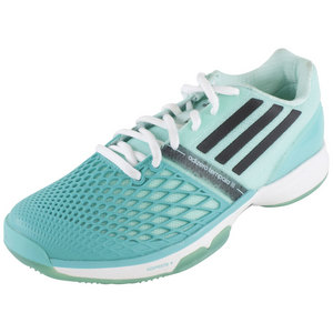 adidas WOMENS CC ADIZERO TEMP III SHOES MINT/BK