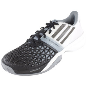 adidas MENS CC ADIZERO FEATHER III SHOES BK/WH