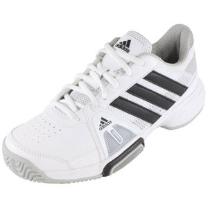 adidas JUNIORS BARRICADE TEAM 3 SHOES WH/BK