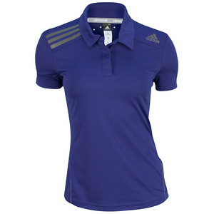 adidas WOMENS CLIMACHILL TENNIS POLO AMAZON PPL