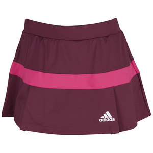 adidas WOMENS ALL PREM TNS SKORT AM RD/BD PK