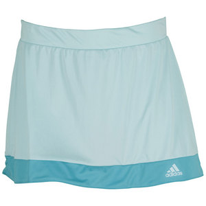 adidas WOMENS GALAXY 13IN TNS SKORT FROST MINT