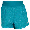Women`s Printed Woven Tennis Short Turbo Green by NIKE