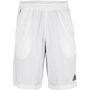 adidas MENS ADIZERO BERMUDA TENNIS SHORT WHITE