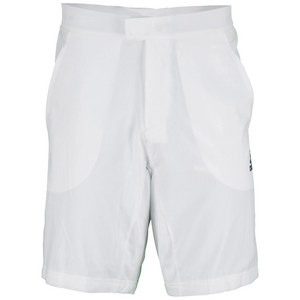 adidas MENS ALL PREMIUM TENNIS SHORT WHITE